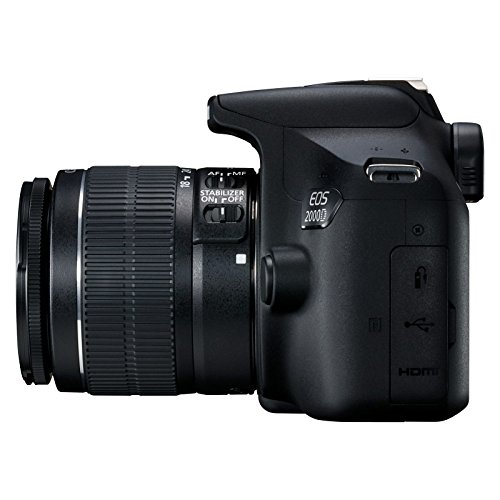 Canon EOS 2000D - Cámara réflex de 24.1 MP (CMOS, Escena inteligente...