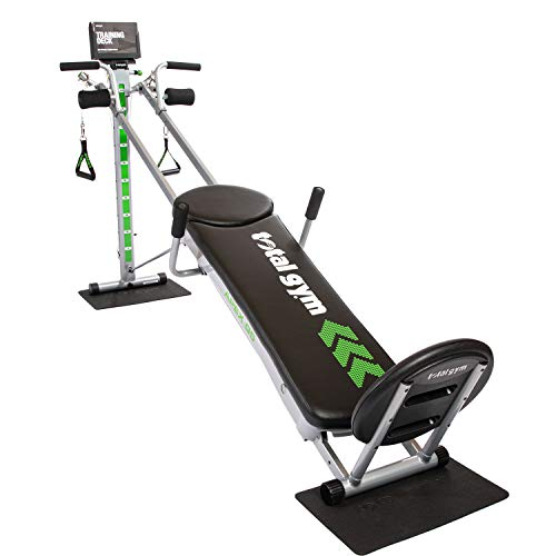 Total Gym APEX G5 Versatile Indoor Home Workout Total Body Strength Training Fitness Equipment with 10 Levels of Resistance and Attachments 1