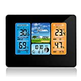 Konesky Station météo sans Fil, baromètre de température Baromètre numérique de...
