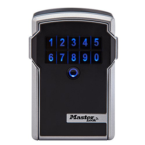 Master Lock Lock Box, Electronic Wall Mount Key Safe with Personal Use Software Platform, 3-1/4 in. Wide, 5441D