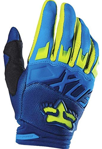Fox Racing 2016 Dirtpaw Race Men's MotoX Motorcycle Gloves - Blue/Yellow