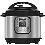 Instant Pot Duo 7-in-1 Electric Pressure Cooker, 6 Qt, 5.7 Litre, 1000 W, Brushed Stainless Steel/Black (Kitchen & Home)