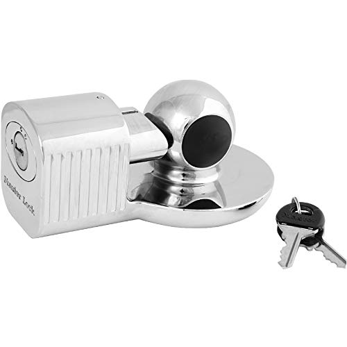 Master Lock 377KA Trailer Hitch Lock, Fits 1-7/8 in., 2 in.,...