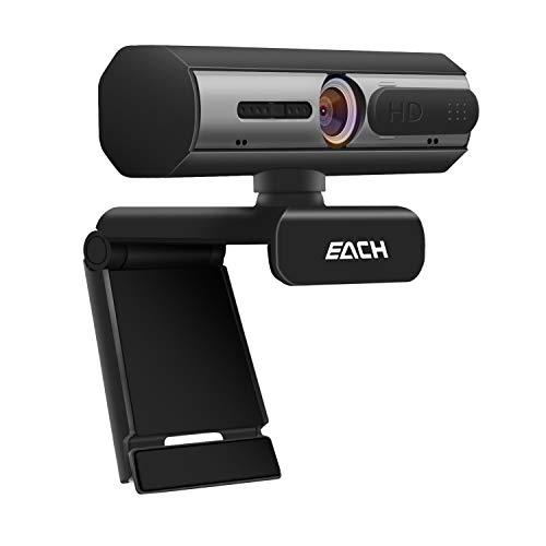 Atrilly Webcam Laptop USB Computer Camera Full HD 1080P Pro Stream Webcam Desktop Camera for Video...