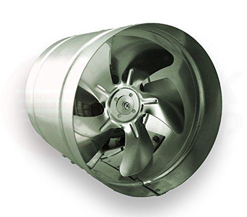 Dotto Inline ventilatore 315 millimetri zinco placcato ARW canalizzazione aspiratore industriale