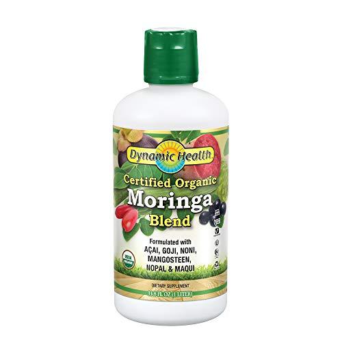 Dynamic Health Certified Organic Moringa Blend Juice | with...