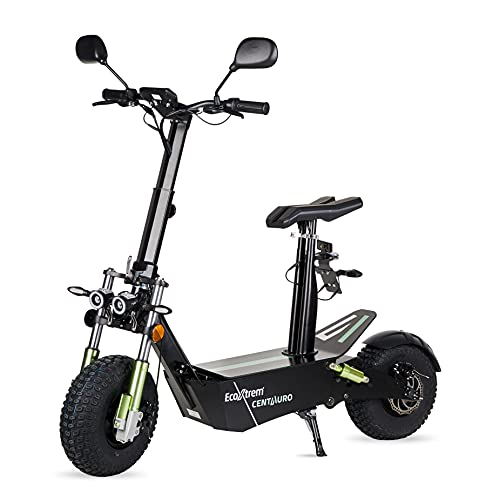 ECOXTREM Centauro - Patinete eléctrico con sillín, Motor 3000W...