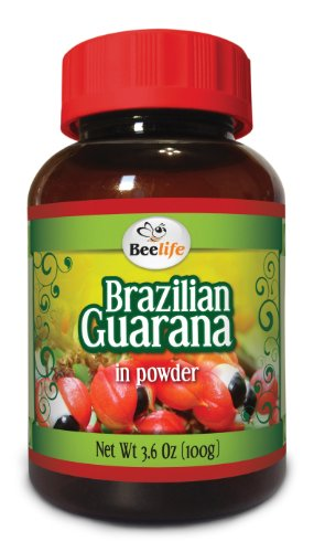 Brazilian Guarana Powder - 3.6 Oz (100gr)