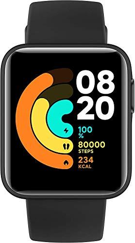 """Xiaomi Mi Watch Lite Smartwatch (1,4"""" TFTLCD-Touchscreen; Messung und Überwachung Herzfrequenz, Schlafzyklus; GPS; Luftdruck- & Höhenmesser; 11 Sportmodi; 5 ATM; 9 Tage Batterielaufzeit) Schwarz"""