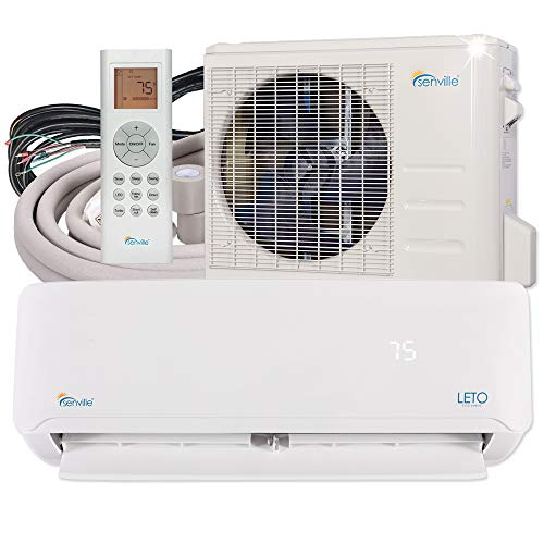 Senville SENL-24CD Mini Split Air Conditioner Heat Pump 24000 BTU 17 SEER