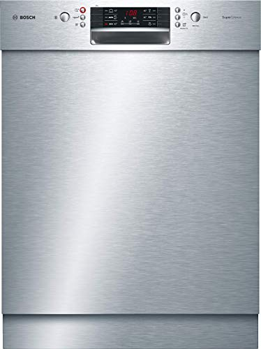 Bosch SMU46NS03E Série 4 Lave-vaisselle encastré/A++/ 60 cm / 266 kWh/an/ 14 MGD/acier inoxydable/SuperSilence / 7 segments/Extratrocknen/Tiroir VarioSchublade