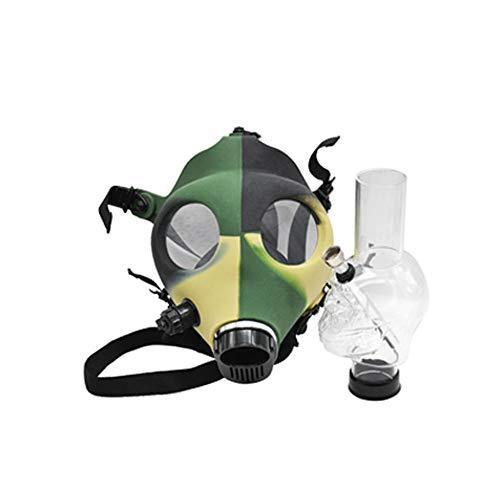 Máscara cachimba Bong silicio cráneo máscara de forma Bong Fumar shisha cachimba para el partido y partido del traje de la diversión, color enviado aleatoriamente