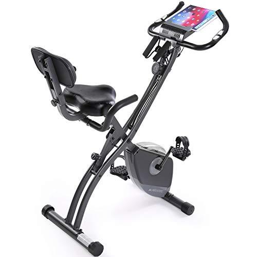 Exercise Bike Stationary Bike Foldable Magnetic...