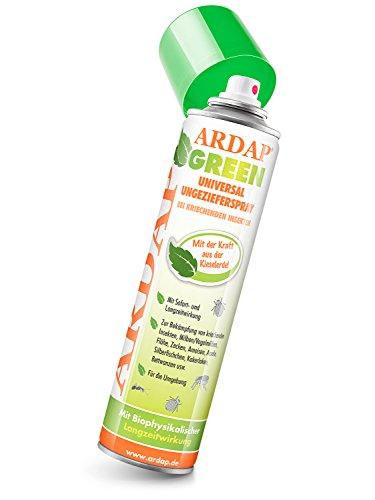 ARDAP Green Aktiv Pulver 100g - 100% reine Kieselgur gegen rote Vogelmilben, Bettwanzen & kriechende Insekten - Für Haushalt, Hühner & Tierhaltung