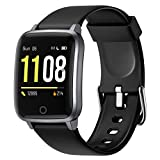 Letsfit Smart Watch, Fitness Trackers with Heart Rate Monitor, Activity Tracker Pedometer, 1.3 Inch...