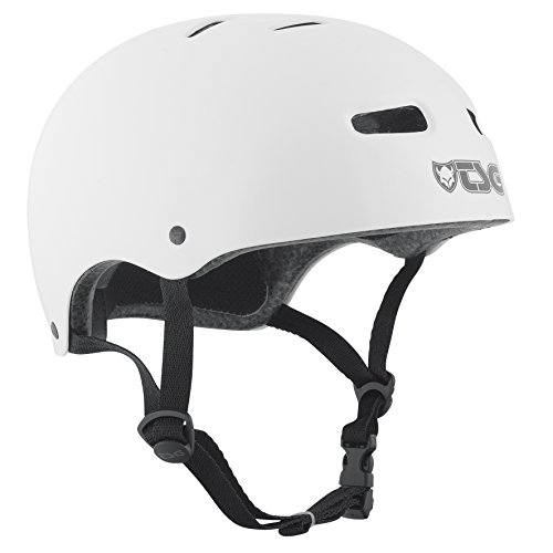 TSG Helm Skate BMX Colors Halbschalenhelm, injected white, S/M