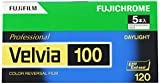 FUJIFILM リバーサルフィルム フジクローム Velvia 100 ブローニー 12枚 5本 120 VELVIA100 EP NP12EX5
