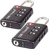 Cadenas TSA pour Valise - Code a 3 Chiffres - ANTIVOL TITAN pour Bagages,...
