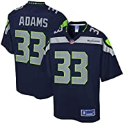 Engineered and constructed to replicate Jamal Adams's game day Pro-Cut jersey. Sizing Tip: Product runs true to size. For a looser fit, we recommend ordering one size larger than you normally wear. Printed Seattle Seahawks wordmarks (where applicable...