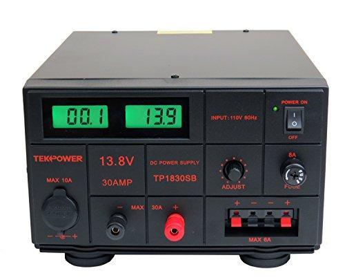 TekPower TP1830SB DC Adjustable DC Power Supply 1.5-15V 30A...