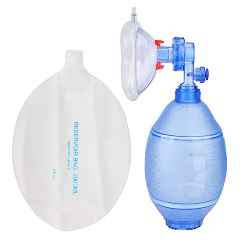 𝐌𝐚𝐧𝐮𝐚𝐥 𝐑𝐞𝐬𝐮𝐬𝐜𝐢𝐭𝐚𝐭𝐨𝐫, O2 𝐌𝐀𝐒𝐊𝐒, Simple Breathing Apparatus for Adults (#3)