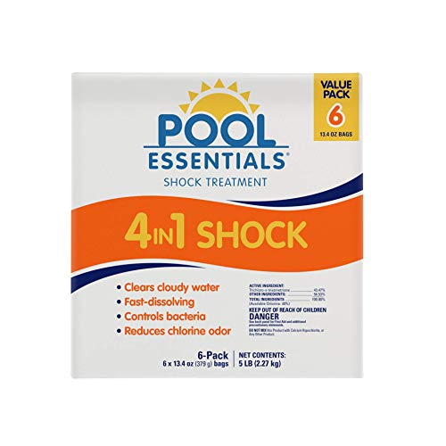 Pool Essentials Shock Treatment 6 Pack (13.4 oz Bags)