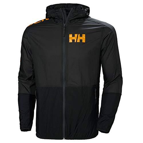Helly Hansen Active Windbreaker Jacket, Hombre, Ebony, M