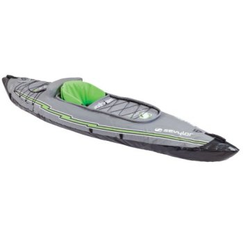 Sevylor Quikpak K5 1-Person Kayak , Gray