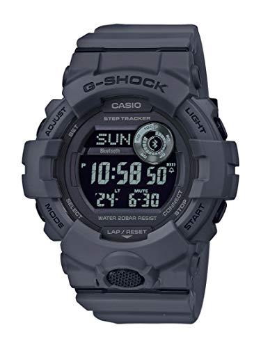CASIO Herren Digital Quarz Uhr mit Resin Armband GBD-800UC-8ER