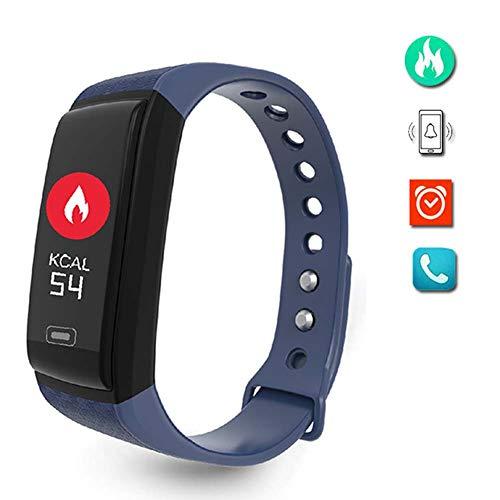 BZLEK Fitness Smartband Sportivo con Contapassi per Camminare, Orologio Bluetooth con Pedometro...