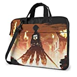 Attack on Titan Laptop Bag Maletín para Tableta Funda Protectora portátil Funda LAPT-3723