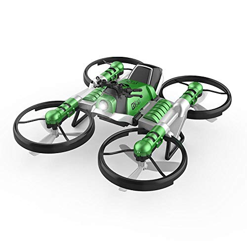 Funbox Mini Drone Mini Drone per Bambini Mini Drone, Moto Dual-in-One con Telecomando Terrestre E...