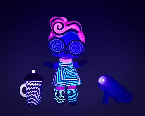 Image 11 - L.O.L. Surprise- Light Glitter Boule 8 Dont 1 poupée pailletée 8cm, phosphorescente, Lampe lumière Noir, Modèles aléatoires à Collectionner, Piles incluses, Jouet pour Enfants dès 3 Ans, LLUB4