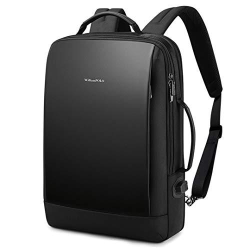 SEECORE ビジネスリュック バックパック 15.6インチリュック USB充電ポート 撥水加工 バックパック 3WAY手提げ