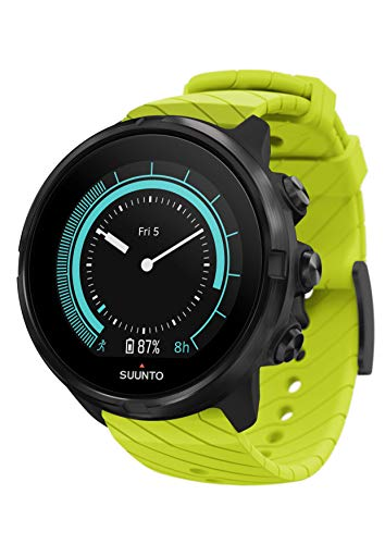 Suunto 9 Multisport-GPS-Uhr, Unisex, Verde, Talla Única