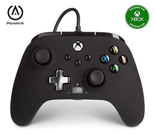 Mando con cable mejorado PowerA para Xbox: en negro