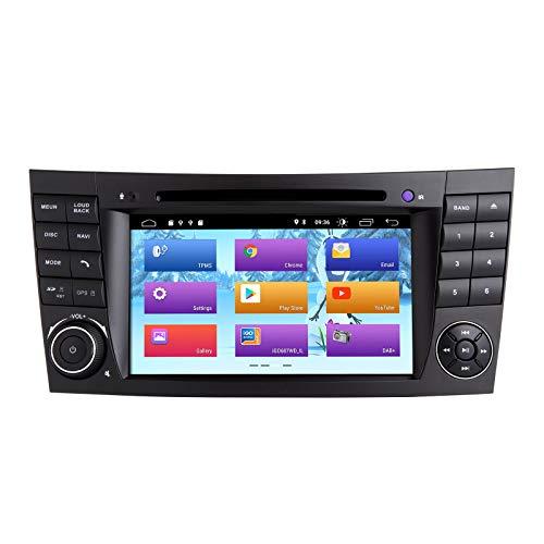 ZLTOOPAI Android 10.0 Autoradio für Mercedes Benz E-Klasse W211 CLS W219...