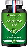 COMPLEXE BIO - Détox intestin, foie et colon 100% naturel BIO - Artichaut,...
