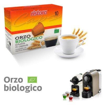 NESPRESSO compatibili 120 capsule ORZO SOLUBILE BIOLOGICO RISTORA