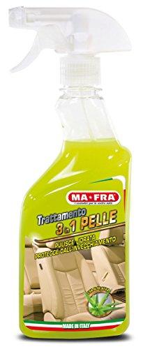 Mafra, Trattamento 3in1 Pelle, Pulisce, Idrata e Protegge le Superfici Interne dell'Auto, con Aloe...