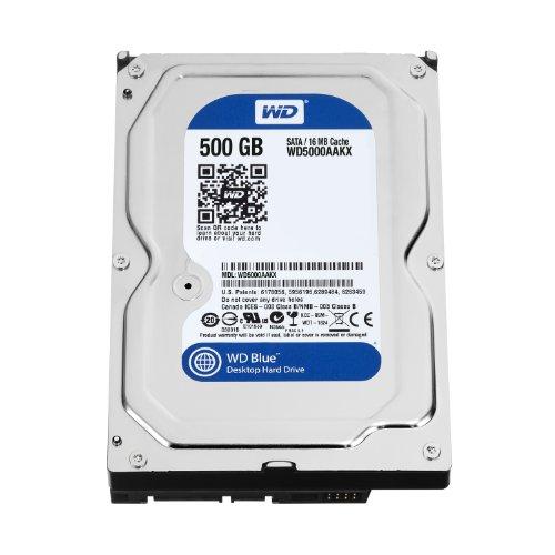 WD WD5000AAKX Blu Hard Disk Desktop da 500 GB,...