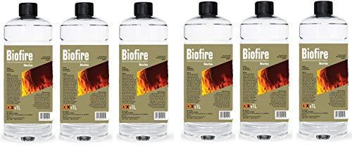 Premium BIOETHANOL Fuel for Fires, Bio Ethanol Liquid Fuel for bioethanol Fires (6 Litre)