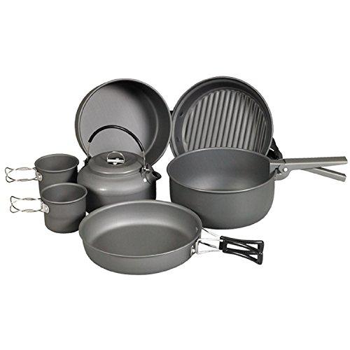 4011635 NDuR - Juego de utensilios de cocina con hervidor de agua (9 piezas)