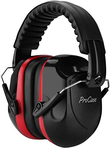 ProCase Noise Reduction Safety Ear Muffs, Shooters Hearing...