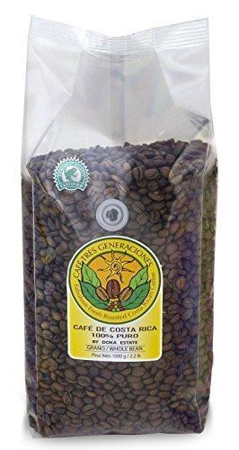 Doka Estate Gourmet Coffee Peaberry AA Doka Coffee/whole Bean, 2.2 lb 2
