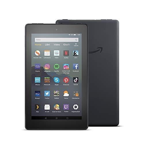 Tablet Fire 7, schermo da 7', 32 GB, (Nero) - senza offerte speciali
