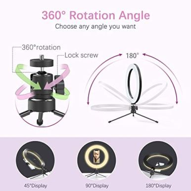 102-Ring-Light-with-Stand-dodocool-LED-Ring-Light-with-Stand-and-Phone-Holder-for-Video-Live-Stream-Makeup-Photography-Dimmable-Selfie-Ring-Light-with-3-Light-Modes-10-Brightness-Level