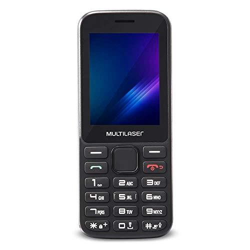 Celular Multilaser ZAPP Tela 2.4 Conexão 3G Preto - P9098