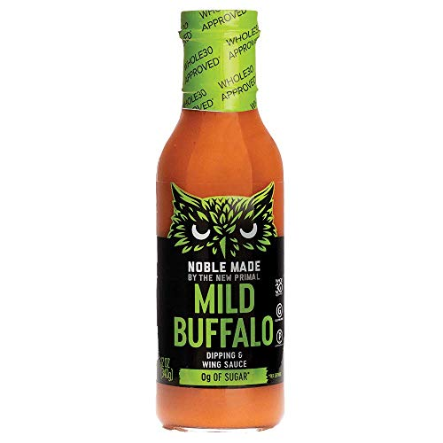 THE NEW PRIMAL Mild Buffalo Dipping & Wing Sauce, 12 OZ