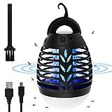 Osaloe Lampe Anti Moustiques, 2 en 1 UV LED Tueur de Mouches et Lanterne de...